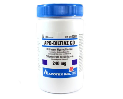 Diltiazem CD 240mg by apotex